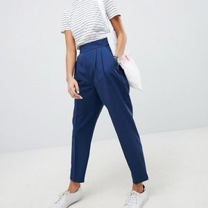 ASOS High Waist Tapered Pant SZ 10